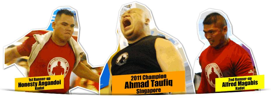 TOP 3 Orang Kuat Sabah 2011